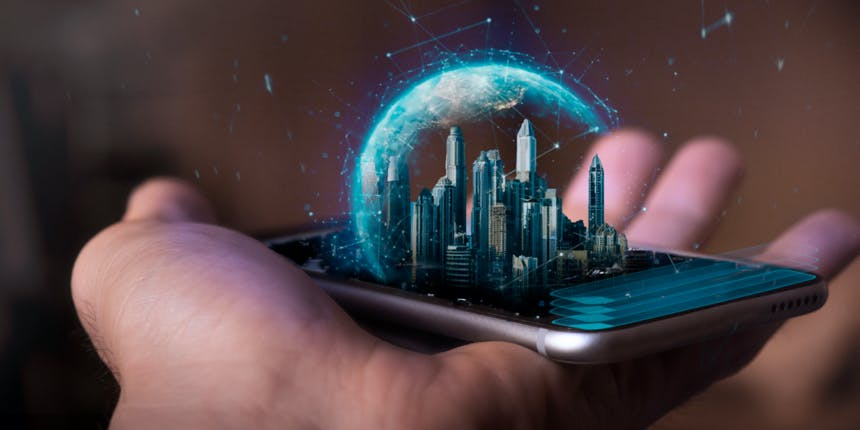 Smart City Technology Coming to Futuristic Cities
