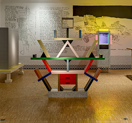 Exhibition 'There is a planet' Ettore Sottsass