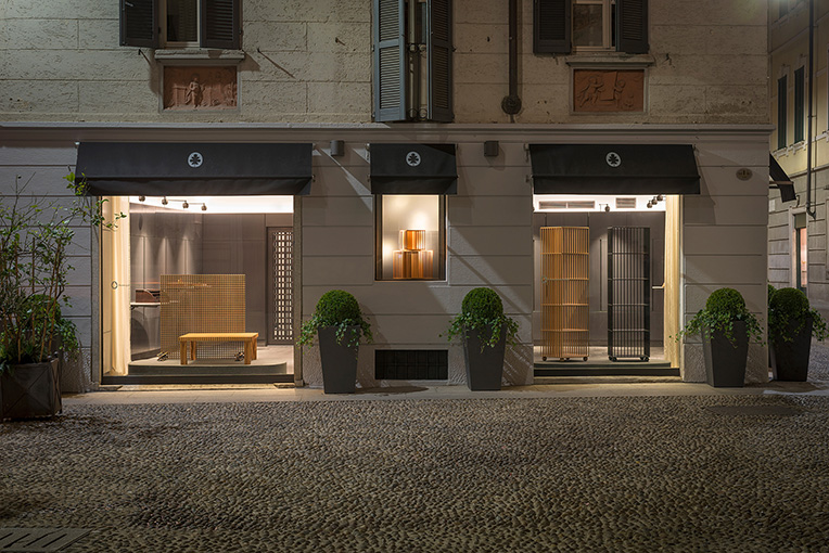 Showroom 'Bottega Ghianda' Milan