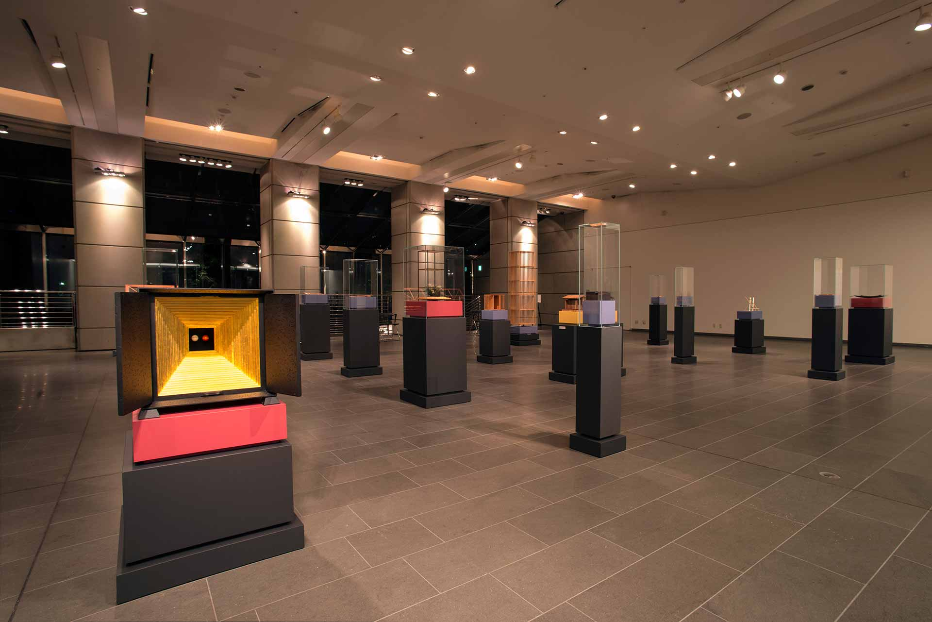 Exhibition 'Carpenrty between Italy and Japan' Bottega Ghianda and Hinoki Kogei