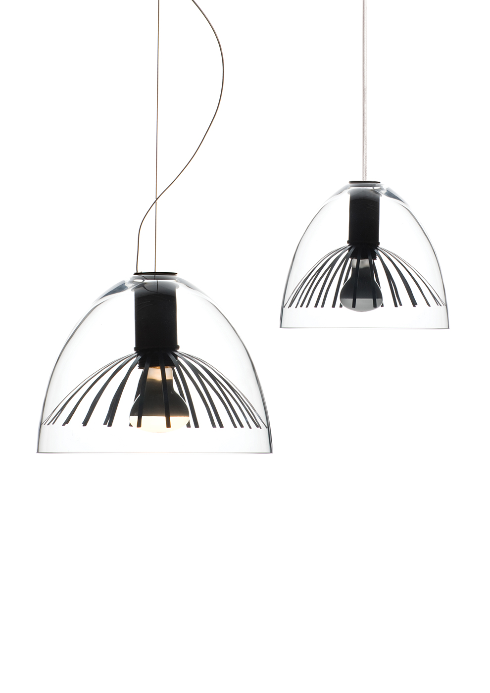 Lamp Collection 'Cipria e Frullino'
