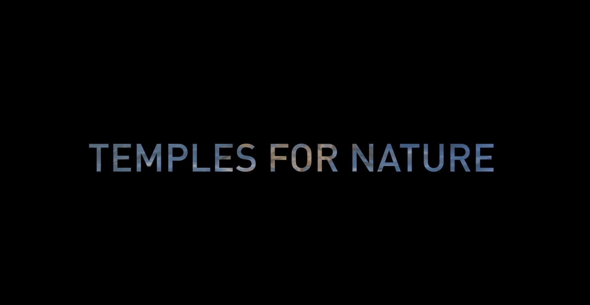 Earth Stations Hospitality: Temples for Nature 2017