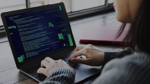 Female software engineer
