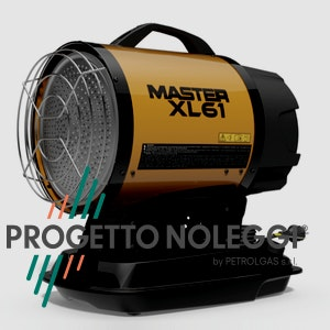 Il Master XL 61 riscalda per irraggiamento senza nessun spostamento d'aria con alta silenziosità.