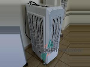 Master CCX 4.0 è un raffrescatore evaporativo Master con elettronica brevettata e prodotta in Italia. Tipologia di raffrescamento dell'aria naturale.