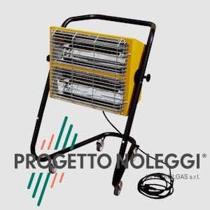 Master HALL 3000 è un riscaldatore ad infrarossi di facile utilizzo, che non consuma ossigeno e non emette fumi, odori e condensa.