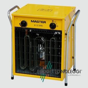 Master B 15 è un generatore elettrico d'aria calda pratico e potente.