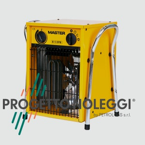Il Generatore d'aria calda elettricoa espirazione Master B 5 ha diverse applicazioni grazie alle sue minime dimensioni.