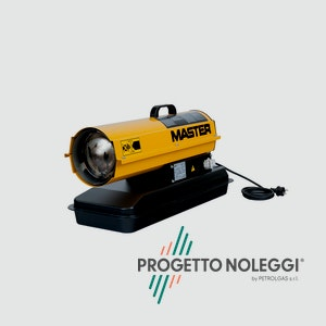 Master B 35 è un generatore d'aria calda a Gasolio per piccoli e medi ambienti ben ventilati, facile da trasportare e di semplice manutenzione.