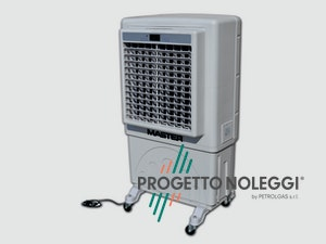 Master BC 60 è dotato di ionizzatore che migliora la qualità dell'aria, il raffrescamento purifica l'aria da polveri, oli, cattivi odori e particelle sospese in aria. Costruito con plastiche resistenti agli urti.