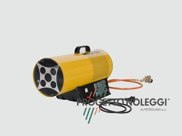 Master BLP 17M è un generatori d'aria calda a Gpl con accensione manuale fra i più leggeri sul mercato, di facile utilizzo e adatto anche a piccoli ambienti.