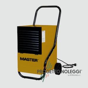 Master DH 752 è un deumidificatore che può essere utilizzato in diversi tipi di locali per lavori di finitura e di ristrutturazione.