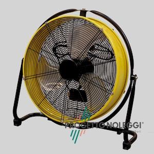 Master DF 20 è un ventilatore professionale a elevato flusso d'aria, facile da utilizzare e trasportare.