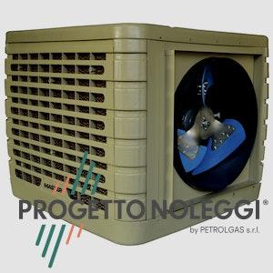 Il Raffrescatore evaporativo fisso Master BCF 231 AL contribuisce al risparmio energetico e al rispetto per l'ambiente controllando il clima in locali di medie e grandi dimensioni