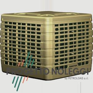 Il Raffrescatore evaporativo fisso Master BCF 231 AB contribuisce al risparmio energetico e al rispetto per l'ambiente controllando il clima in locali di medie e grandi dimensioni, anche con porte e finestre aperte.