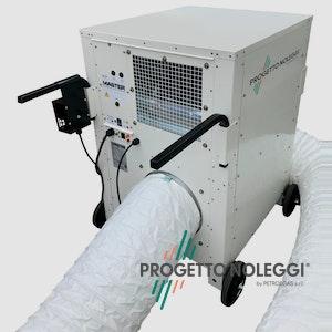 Master Dantherm AC 24 è un condizionatore professionale ad alte prestazioni di assoluta affidabilità, prodotto totalmente in Danimarca