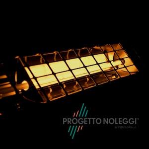 Master COFFEE 18 è un riscaldatore elettrico piccolo e compatto che genera una gradevole luce gialla
