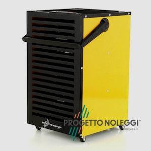 Master DH 732 è un deumidificatore professionale che rimuove l'umidità, protegge dalla muffa e dallo sviluppo di batteri.