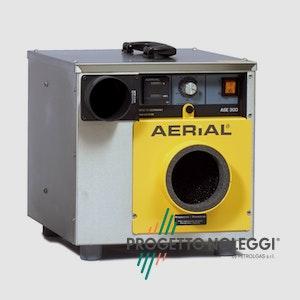 Master Aerial ASE 300 è adatto per raggiungerebassi livelli di umidità con un campo d'azione molto largo.