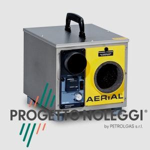 Master Aerial ASE 200 è adatto per raggiungerebassi livelli di umidità con un campo d'azione molto largo.