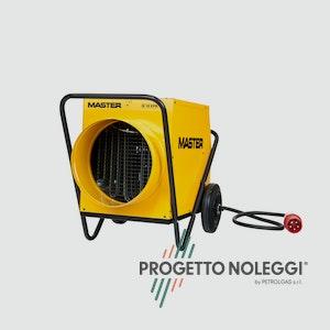 Il Generatore d'aria calda elettricoa espirazione Master B 18 ha diverse applicazioni, con la possibilità di collegamento a tubo flessibile.