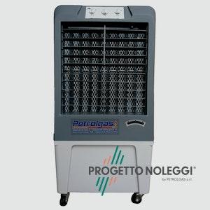 Free 3500 è un raffrescatore evaporativo portatile con doppio funzionamento, come ventilatori o come raffrescatori.