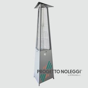La LuxuryCalor Falò Evo è un riscaldatore a GPL prodotto in Italia con certificazione