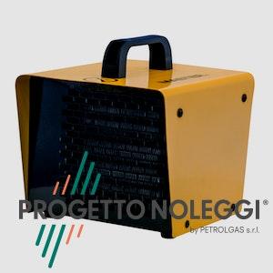 Master B 2 PTC è un generatore d'aria calda elettrico piccolo e compatto ad alto rendimento, grazie alla tecnologia PTC (coefficiente di temperatura positivo).