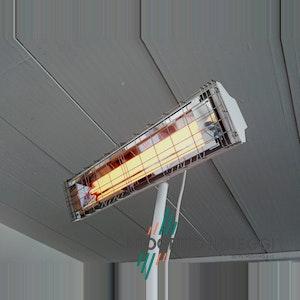Grado OMV 1650 è una lampada innovativa a onda media che non emette luce ma riscalda in maniera pulita e sicura.