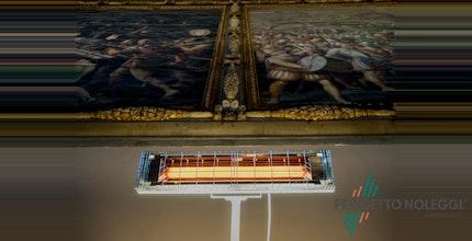 Come abbiamo riscaldato il Salone dei 500 in Palazzo Vecchio a Firenze