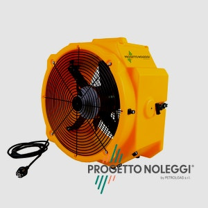Master DFX 20 è un ventilatore professionale a elevato flusso d'aria, facile da utilizzare e trasportare.