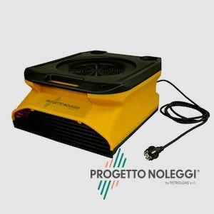 Il Master CDX 20 è un soffiatore professionale, portatile, mobile e silenzioso utilizzato per l'areazione e l'essiccazione di pavimenti.