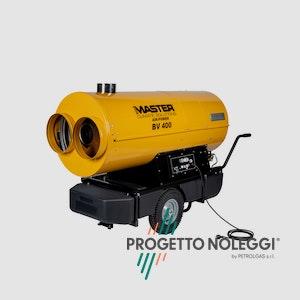 Master BV 400 è un generatore d'aria calda a gasolio molto flessibile, adattabile ed efficiente.