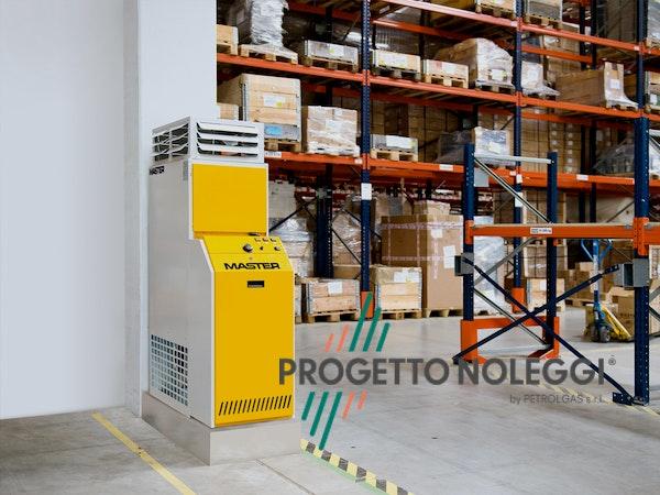 Master BF 35 e BF 75 sono generatori d' aria calda a Gasolio stazionari, di facile installazione e ideali per grandi strutture.
