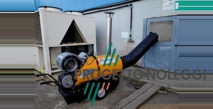 Nuovo BV 500 Master - Generatore d'aria calda a gasolio a riscaldamento indiretto