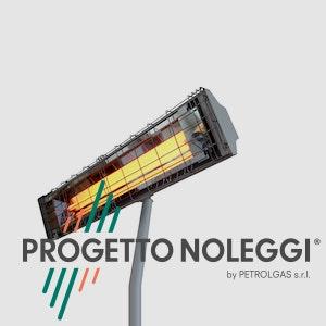 Grado OMV 2250 è una lampada a infrarossi a onda media che garantisce un calore pulito e sicuro riscaldando singoli ambienti