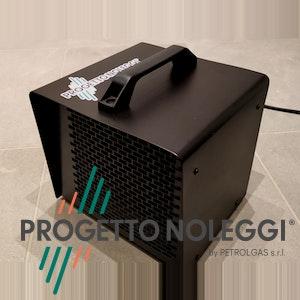 Master B 3 PTC Black Edition è un generatore d'aria calda elettrico ad Alto Rendimento, grazie alla tecnologia PTC e le resistenze in ceramica