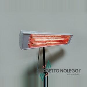 Progetto Noleggi noleggia e installa riscaldatori a infrarosso come Sol 1900, anche in versione nero opaco