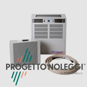 Master ACT 7 è un condizionatore professionale con prestazioni di alto livello, dotato di unità esterna e cavi compresi nel noleggio e installazione da parte di Progetto Noleggi