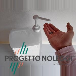 Questo è il nostro dispenser manuale a tanica da 5 Litri, con Gel Igienizzante Mani Prodotto in Italia, realizzato con i migliori estratti naturali che caratterizzano il nostro paese. La tanica da 5litri è comodissima in tutti quei luoghi pubblici o privati in cui si ha una grande affluenza di persone che utilizzano il gel mani.
