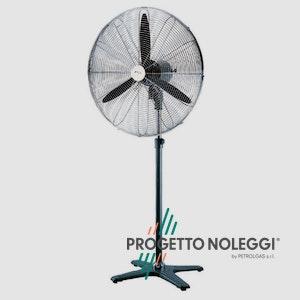 Master FS 75 è un ventilatore elegante professionale a piantana con un elevatissimo flusso d'aria grazie al motore ad alte prestazioni.