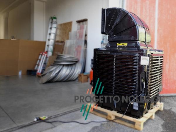 Installazione in Magazzino industriale BCB 19 - Raffrescatore
