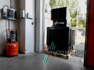 Installazione in Officina Meccanica BCB 19 - Raffrescatore