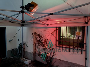 Installazione su gazebo Master HALL 1500