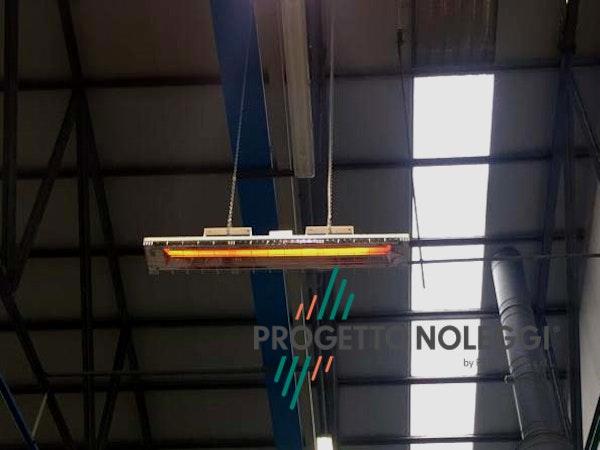Grado OMV 4000 è una lampada a infrarossi a onda media garantisce un calore pulito e sicuro riscaldando singoli ambienti