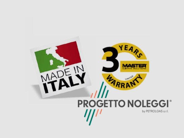 3 Anni di Garanzia - Made in Italy