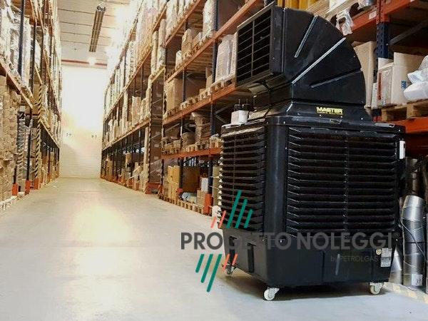 Installazione in magazzino BCB 19 - Raffrescatore