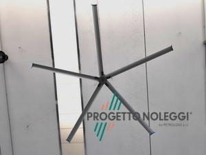 Destratificatore da soffitto - Tecnologia HVLS - High Volume Low Speed