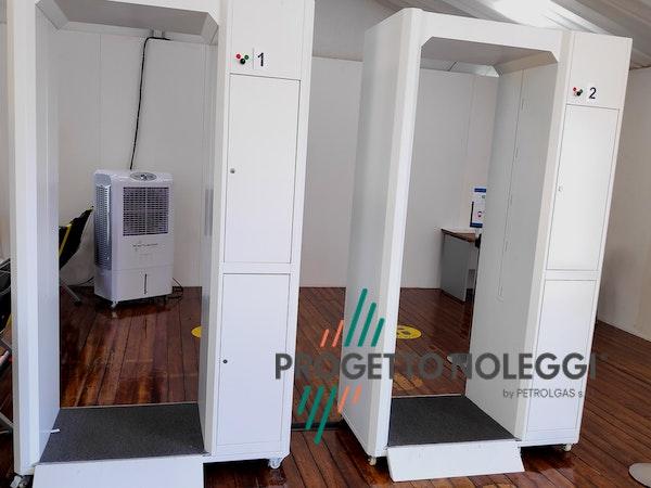Installazione presso Areoporto Master CCX 4.0