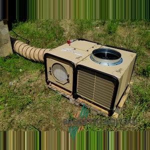 Applicazione sotto il sole cuocente Dantherm AC-M18 - Progetto Noleggi